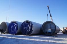 Nie potrzeba wiele miejsca - musi zmieścić się dźwig i turbiny, rozłożone na czynniki pierwsze.
